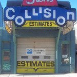 Dick's Collision Building Front
